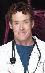 John C. McGinley, as Dr. Wiener